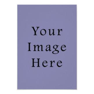 """Light Purple Haze Color Trend Blank Template 3.5"""" X 5"""" Invitation Card"""
