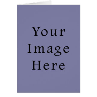 Light Purple Haze Color Trend Blank Template Note Card