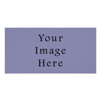 Light Purple Haze Color Trend Blank Template Customized Photo Card