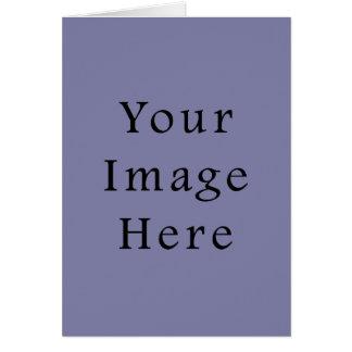 Light Purple Haze Colour Trend Blank Template Greeting Card