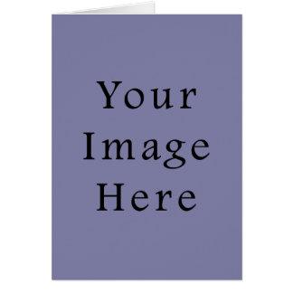Light Purple Haze Colour Trend Blank Template Note Card