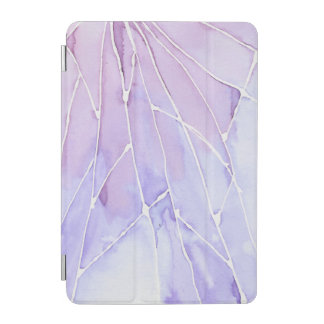 Light Purple Marble Break iPad Mini Cover