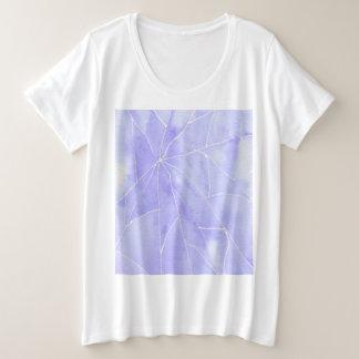 Light Purple Marble Break Plus Size T-Shirt