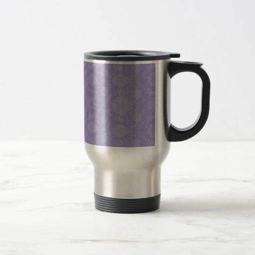 Light Purple Vintage Floral Mugs