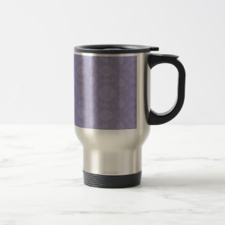 Light Purple Vintage Floral Travel Mug