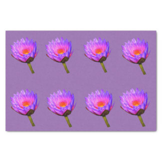 Light Purple Water Lily Tissue Paper