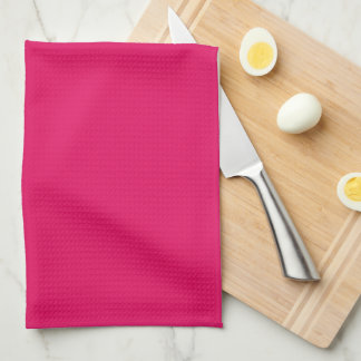 Light Raspberry Fashionable Lettered Kitchen Towel