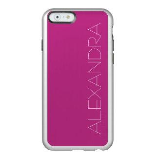 Light Raspberry Solid Color Incipio Feather® Shine iPhone 6 Case