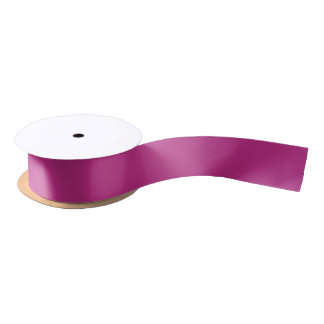 Light Raspberry Solid Color Satin Ribbon