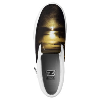 Light Reflection Slip-On Sneakers