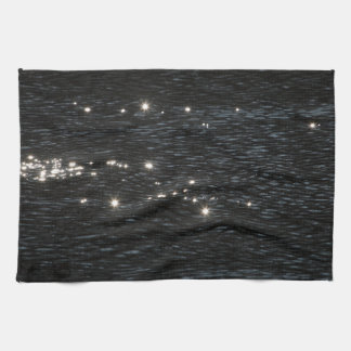 Light reflections hand towel