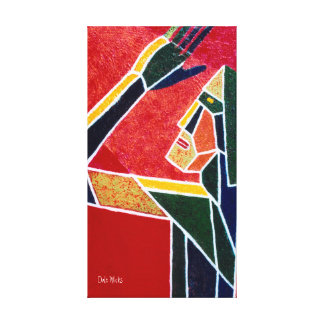 Light Reveals The Facets Canvas Print