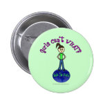 Light Rule The World Girl Buttons