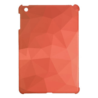Light Salmon Abstract Low Polygon Background Case For The iPad Mini