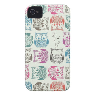 light sherbet owls iPhone 4 covers