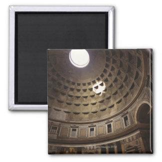 Light shining through oculus in The Pantheon in Refrigerator Magnet