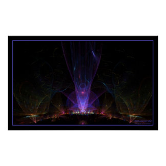 light show concert poster