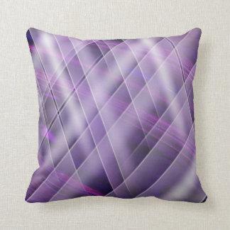 light show purple throw pillow
