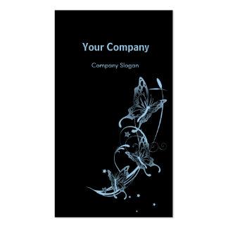 Light Sky Blue Butterflies Business Cards