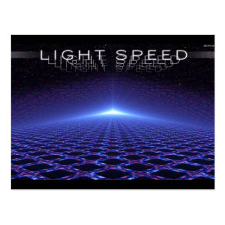 Light Speed Postcard