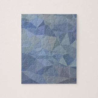 Light Steel Blue Abstract Low Polygon Background Puzzles