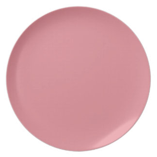 Light Strawberry Pink Plate