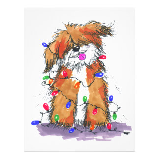 Light String Doggie Letterhead