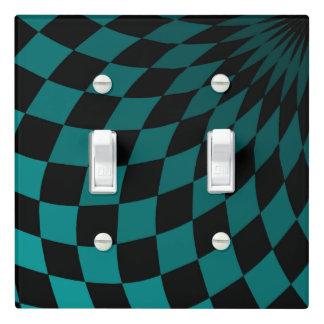 Light Switch Cover Double Wonderland Floor