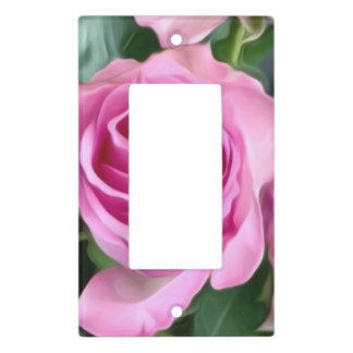 Light Switch Cover Rose