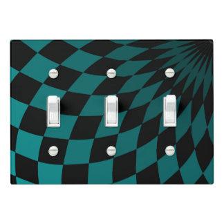 Light Switch Cover Triple Wonderland Floor