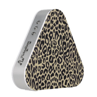 Light Tan Leopard Animal Print Bluetooth Speaker