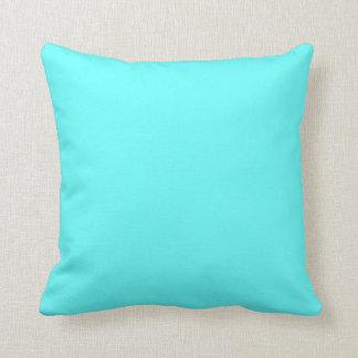 light teal blue  pillow