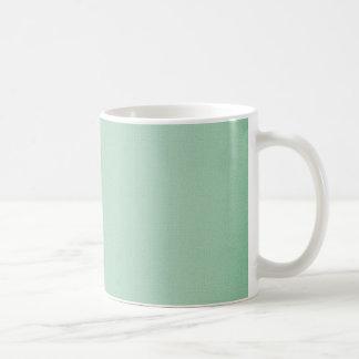 LIGHT TEAL BLUISH GREEN GIRLY BEAUTY FASHIONABLE C COFFEE MUGS