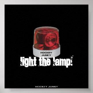 LIGHT THE LAMP PRINT