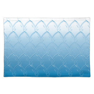 Light to Dark Blue Scales Placemat