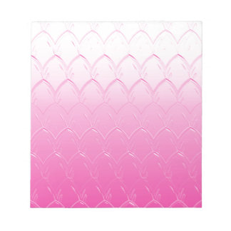 Light to Dark Pink Scales Notepad