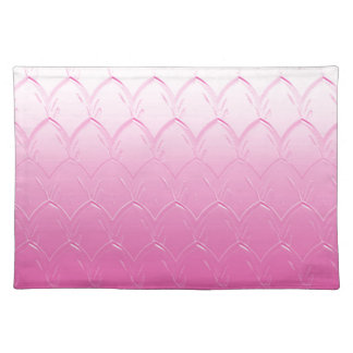 Light to Dark Pink Scales Placemat
