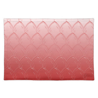 Light to Dark Red Scales Placemat