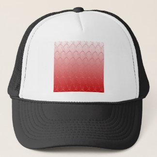 Light to Dark Red Scales Trucker Hat