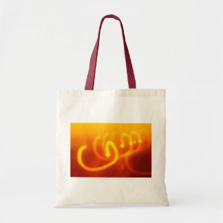 Light trails abstract Bag
