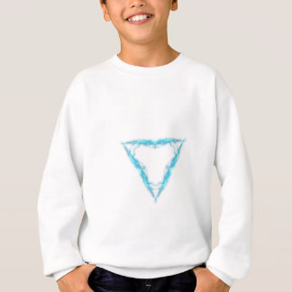 Light triangle sweatshirt
