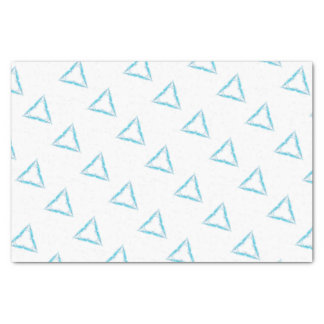 Light triangle tissue paper