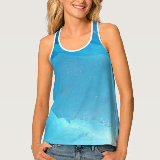 LIGHT TURQUOISE ICE TANK TOP