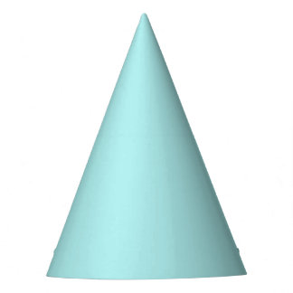 Light Turquoise Party Hat