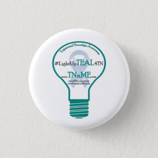 Light up TEAL 4 Trigeminal Neuralgia button