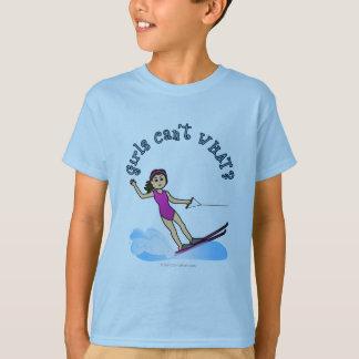 Light Water Skier Girl T-Shirt