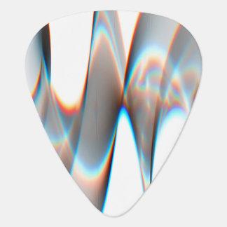 Light Wave Pattern Guitar Pick