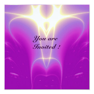 LIGHT WAVES ,Pink,Fuchsia,,Purple,White Custom Invites