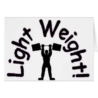 light weight products card