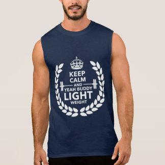 Light weight sleeveless shirt